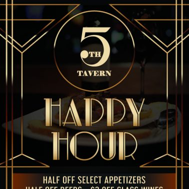 5th Tavern Happy Hour