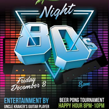 Bumpers Landing 80's Night