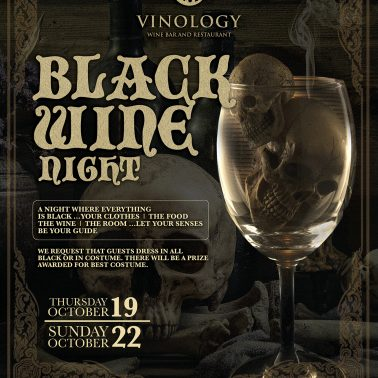 Vinology Black Wine Night 2017